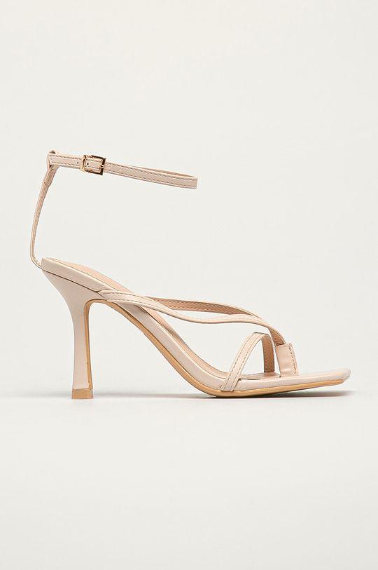 béžová Answear Lab - Sandály Sweet Shoes Dámský