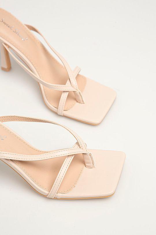 Answear Lab - Sandály Sweet Shoes béžová