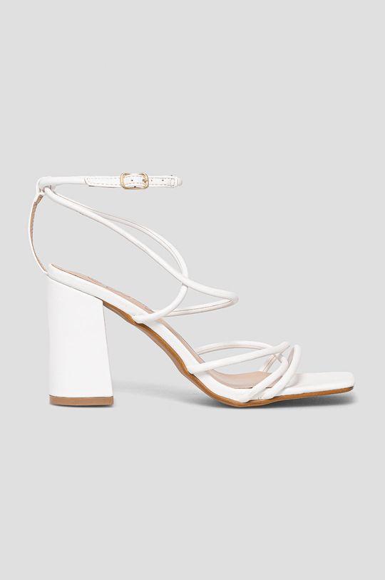 biały Answear Lab - Sandały Bestie Damski
