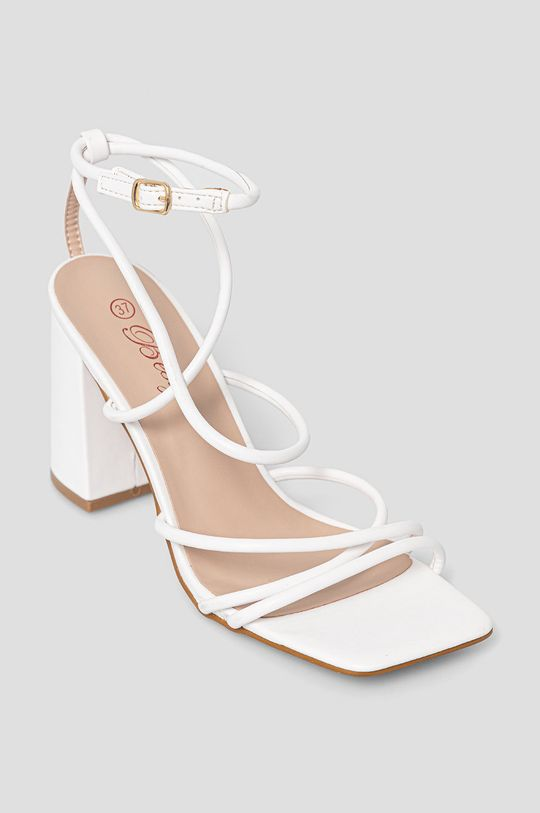Answear Lab - Sandały Bestie biały