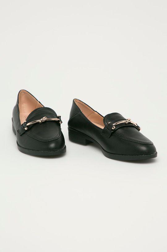 Answear Lab - Mokasíny GoGoShoes černá
