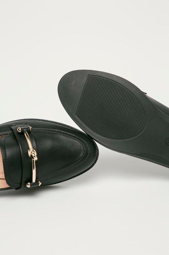 černá Answear Lab - Mokasíny GoGoShoes