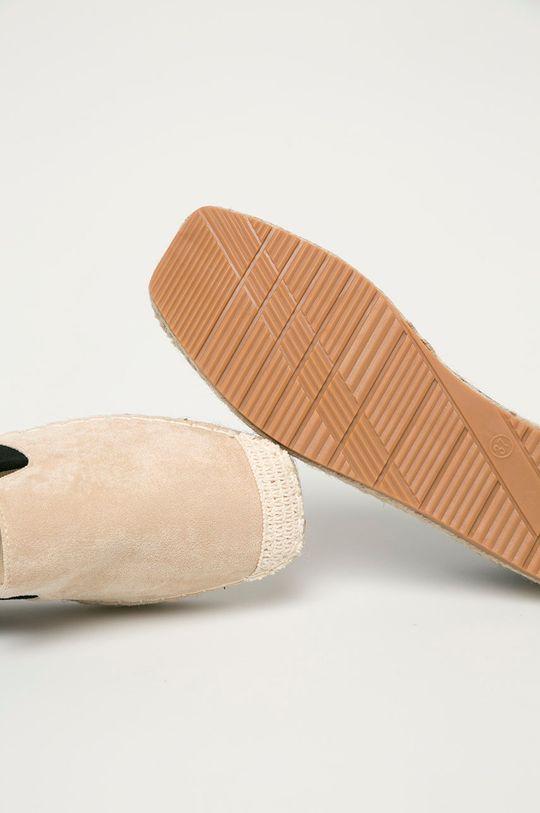 beżowy Answear Lab - Espadryle GoGoShoes