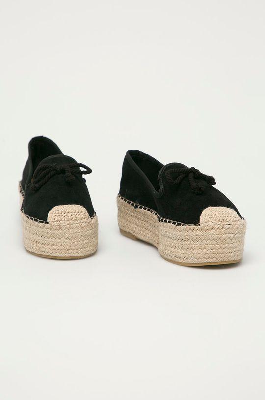 Answear Lab - Espadrilky GoGoShoes černá