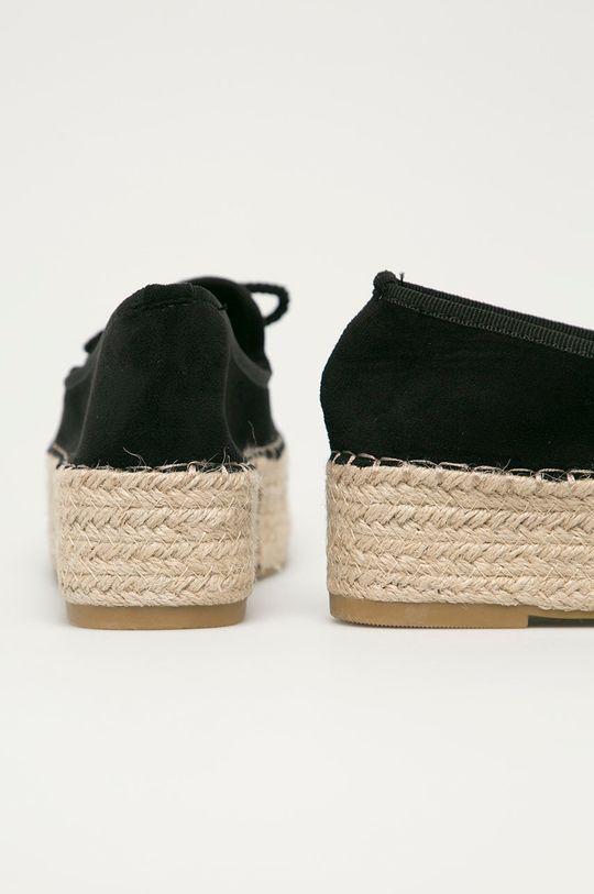 Answear Lab - Espadrilky GoGoShoes  Svršek: Textilní materiál Vnitřek: Textilní materiál Podrážka: Umělá hmota