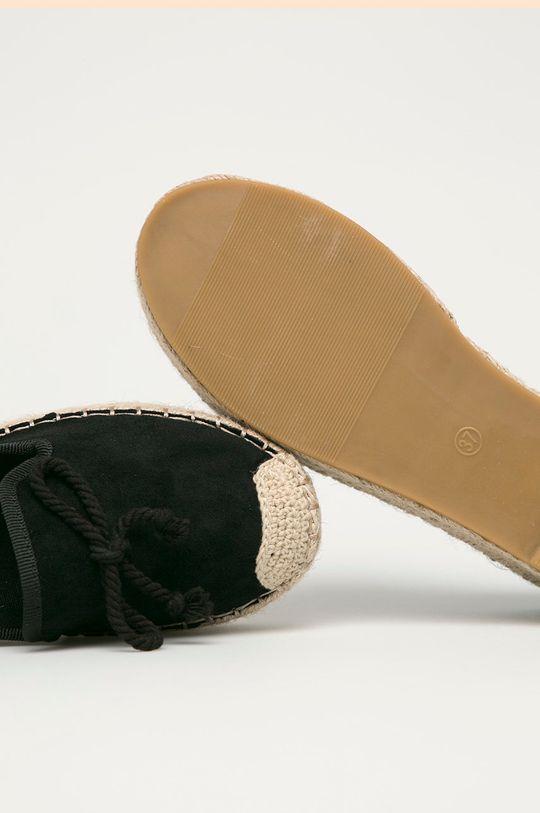 černá Answear Lab - Espadrilky GoGoShoes