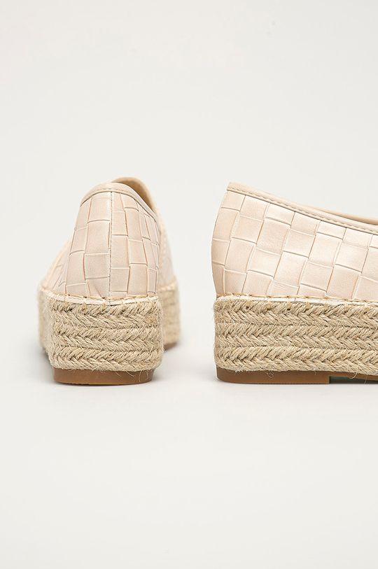 Answear Lab - Espadrile Mellisa  Gamba: Material sintetic, Material textil Interiorul: Material textil Talpa: Material sintetic
