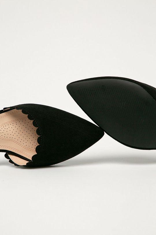 černá Answear Lab - Lodičky Diamantique