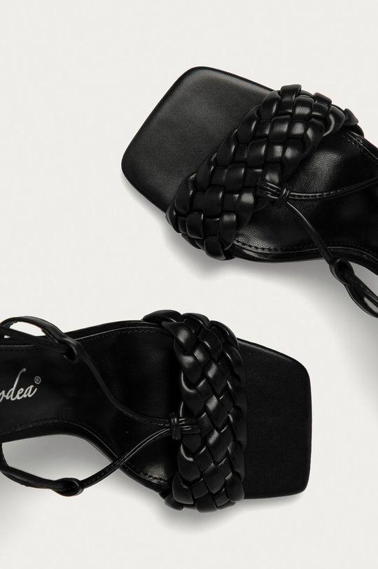 čierna Answear Lab - Sandále Ciaodea