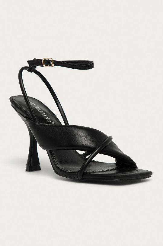 Answear Lab - Sandály Tulipano černá