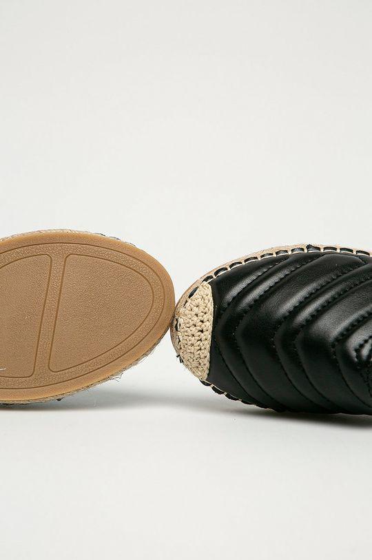 černá Answear Lab - Espadrilky