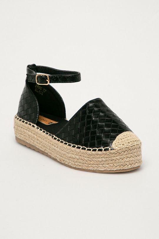 Answear Lab - Espadrilky Ideal Shoes čierna
