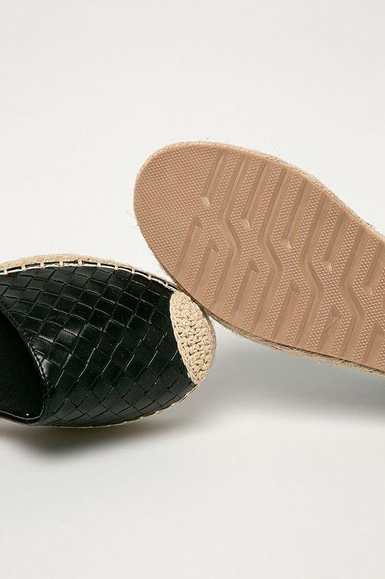 čierna Answear Lab - Espadrilky Ideal Shoes