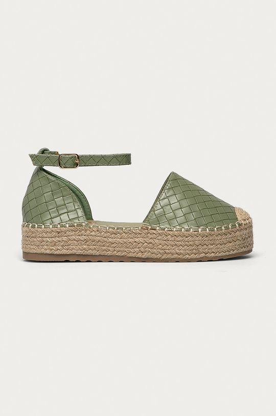 mátová Answear Lab - Espadrilky Ideal Shoes Dámský