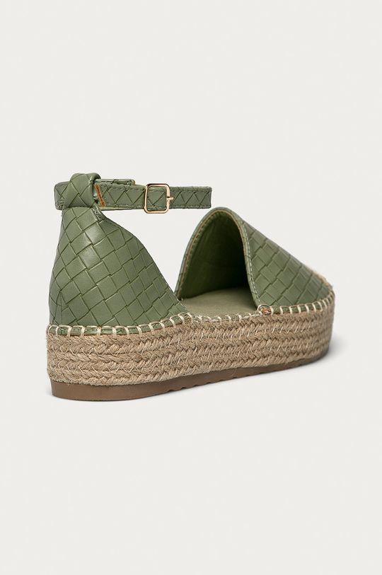 Answear Lab - Espadrilky Ideal Shoes mátová