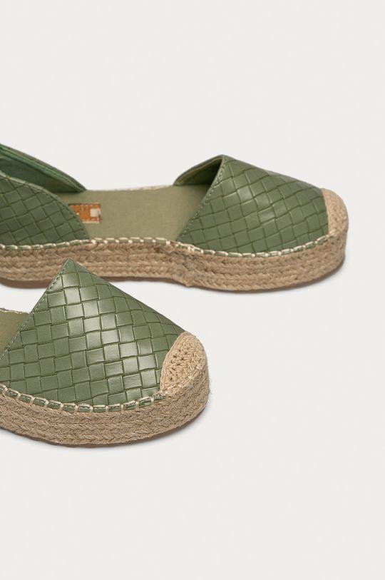 Answear Lab - Espadrilky Ideal Shoes  Svršek: Umělá hmota Vnitřek: Umělá hmota Podrážka: Umělá hmota