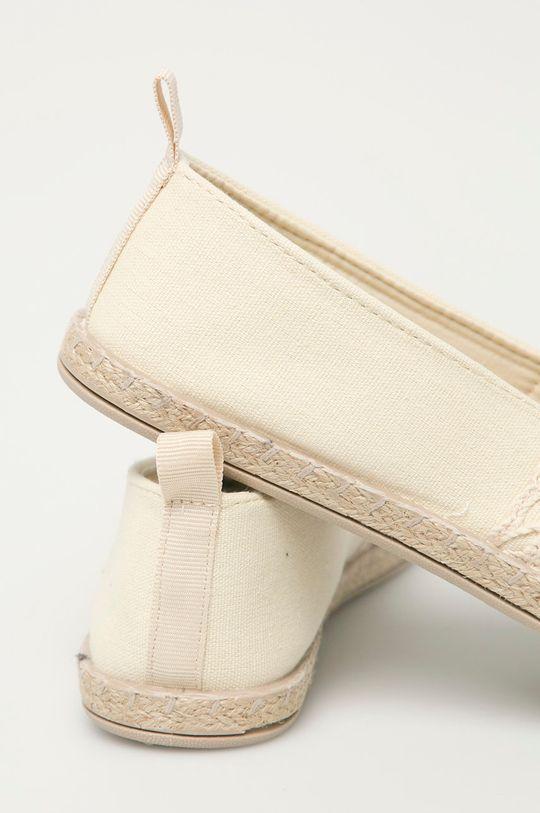 Answear Lab - Espadrilky Confly  Svršek: Textilní materiál Vnitřek: Textilní materiál Podrážka: Umělá hmota