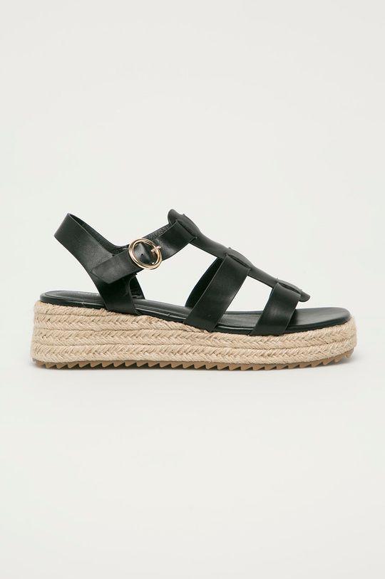 čierna Answear Lab - Sandále Tinas Dámsky