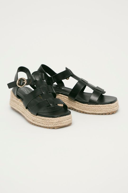 Answear Lab - Sandále Tinas čierna