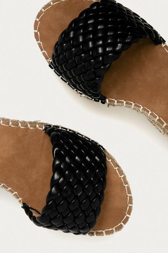 czarny Answear Lab - Sandały Tinas