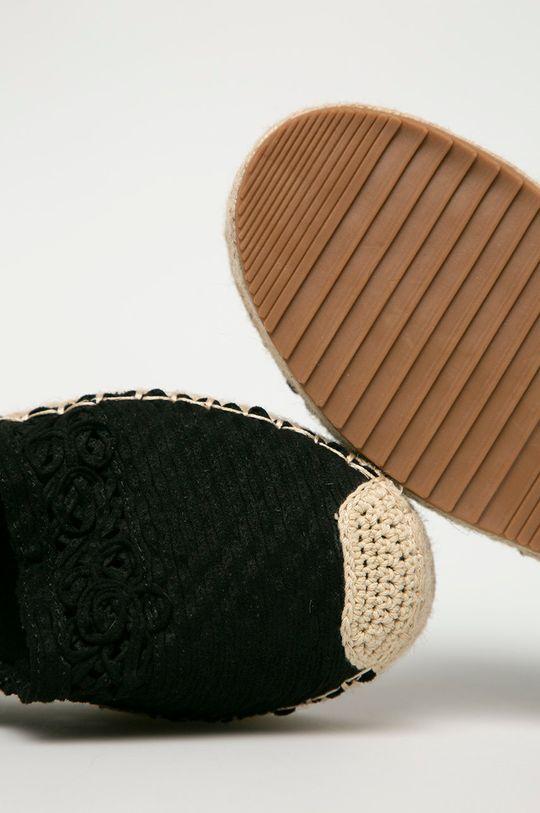 čierna Answear Lab - Espadrilky Woman Key