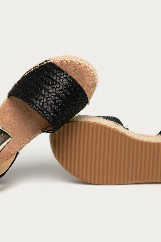 černá Answear Lab - Sandály Prisska