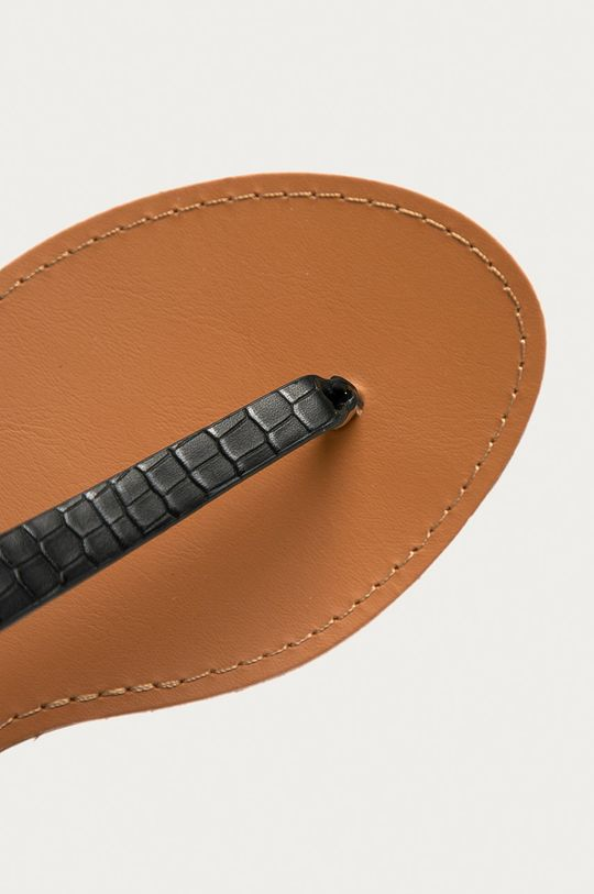 čierna Answear Lab - Sandále Prisska