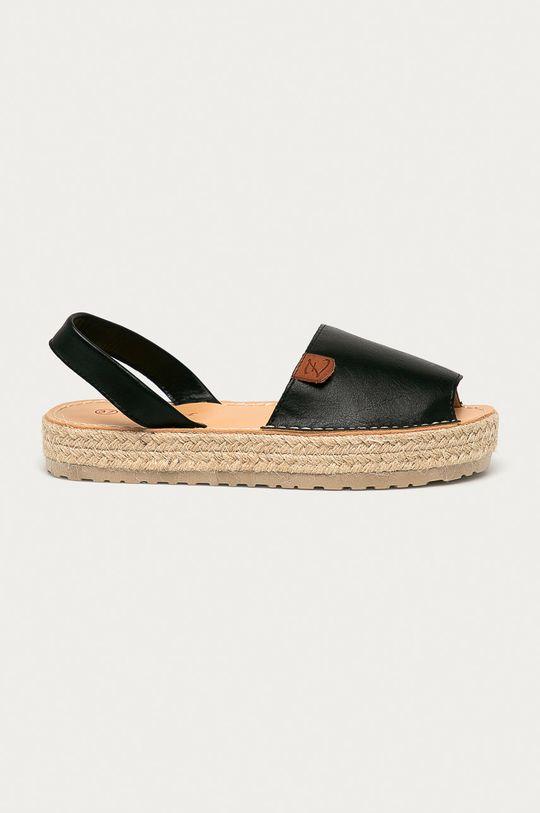 černá Answear Lab - Sandály Prisska Dámský