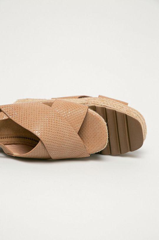 beżowy Answear Lab - Sandały Festissimo