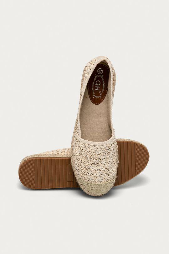 Answear Lab - Espadrilky  Svršek: Textilní materiál Vnitřek: Textilní materiál Podrážka: Umělá hmota