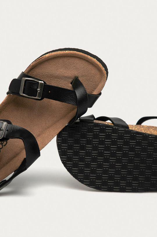 černá Answear Lab - Sandály Gogo