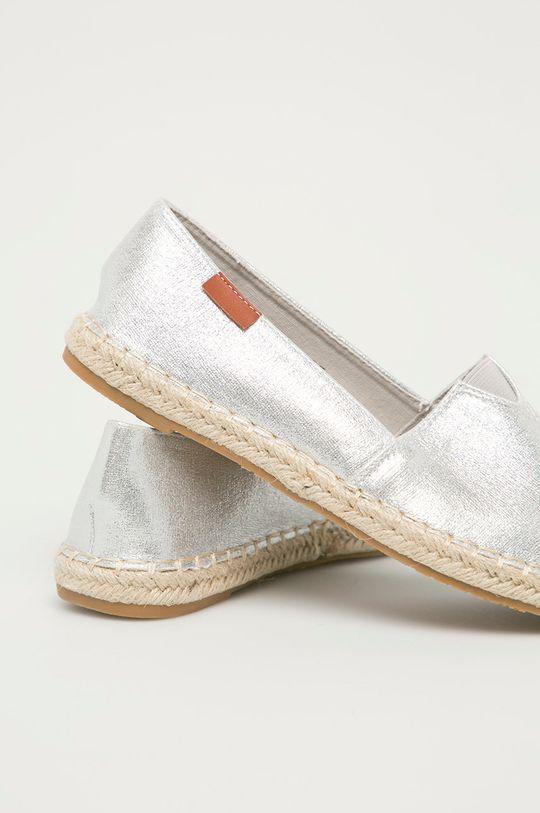 Answear Lab - Espadrilky Moda Plus  Svršek: Textilní materiál Vnitřek: Textilní materiál Podrážka: Umělá hmota