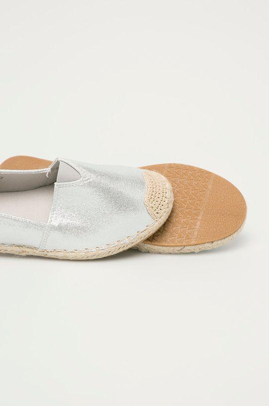 stříbrná Answear Lab - Espadrilky Moda Plus