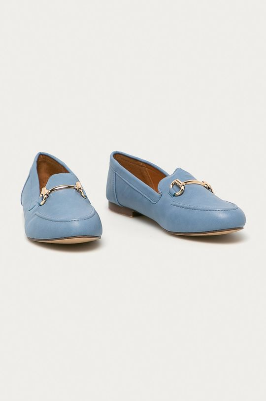 Answear Lab - Mokasíny Moda Plus modrá