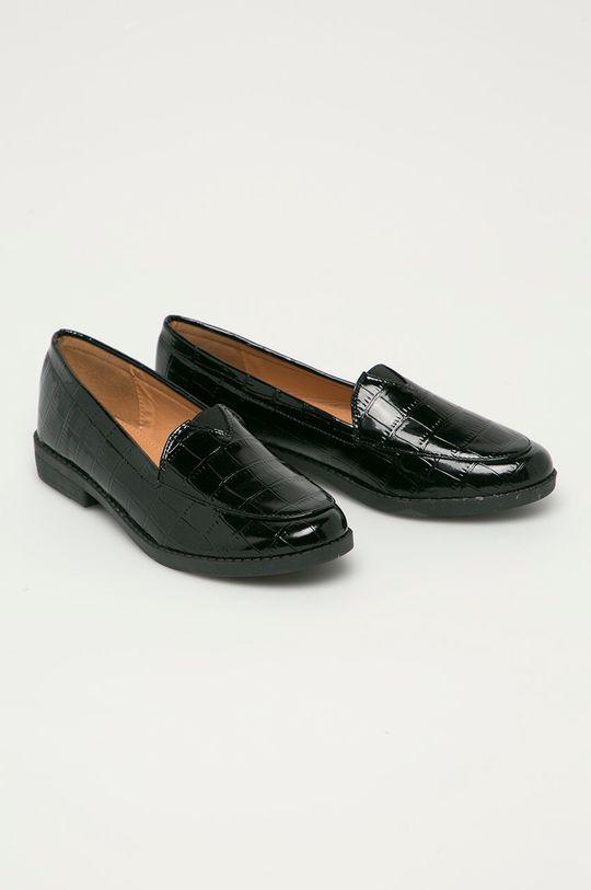 Answear Lab - Mokasíny Moda Plus černá