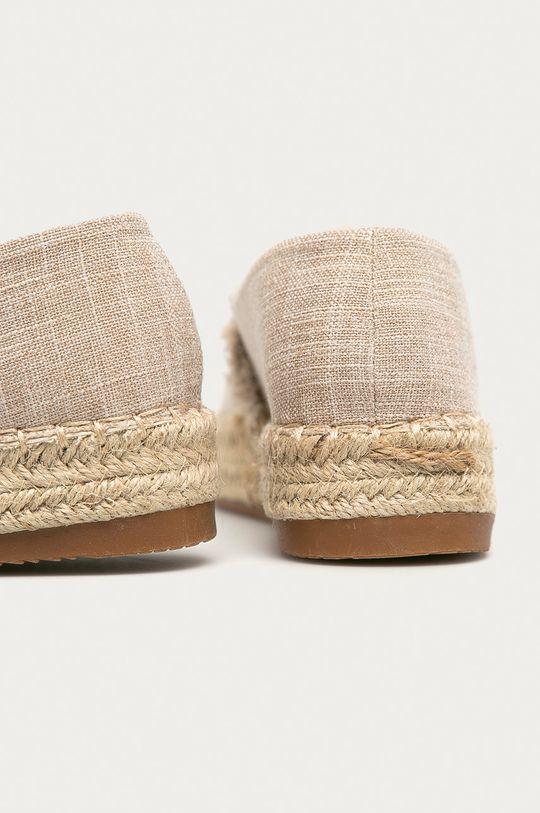 Answear Lab - Espadrilky RIANDA  Svršek: Textilní materiál Vnitřek: Textilní materiál Podrážka: Umělá hmota