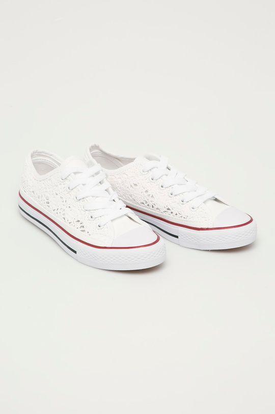 Answear Lab - Tenisky Moda Plus bílá