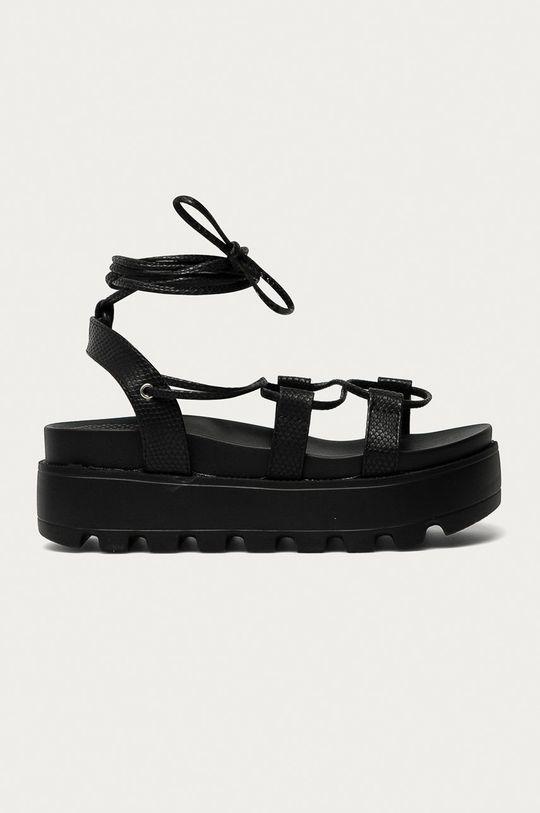 černá Answear Lab - Sandály Moda Plus Dámský