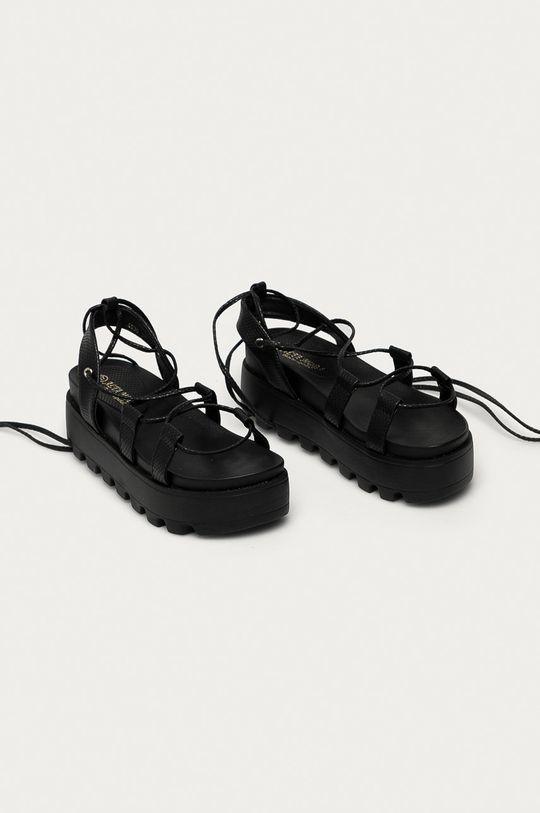 Answear Lab - Sandály Moda Plus černá