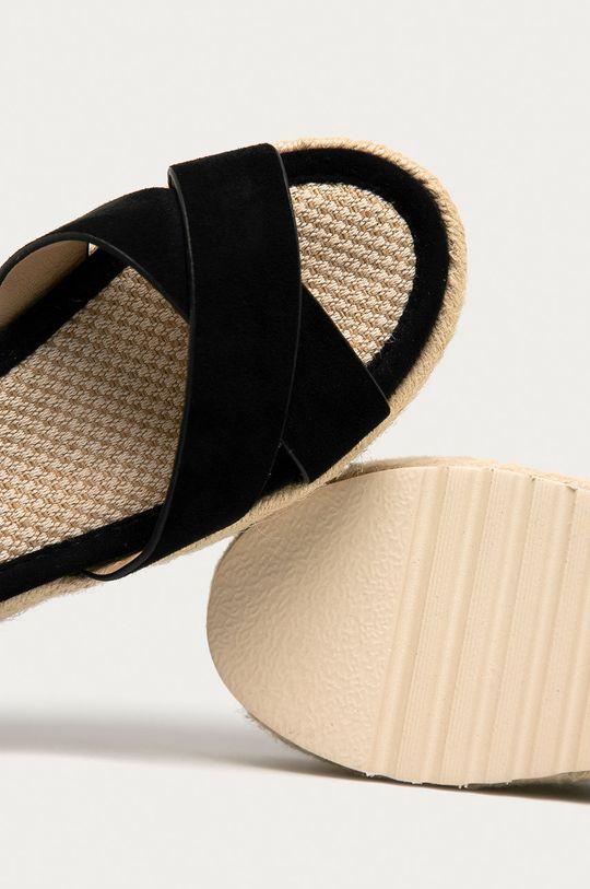černá Answear Lab - Sandály RIANDA