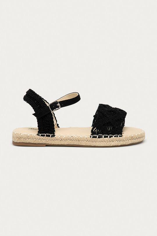 czarny Answear Lab - Sandały Best Shoes Damski