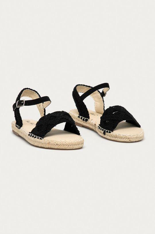 Answear Lab - Sandały Best Shoes czarny