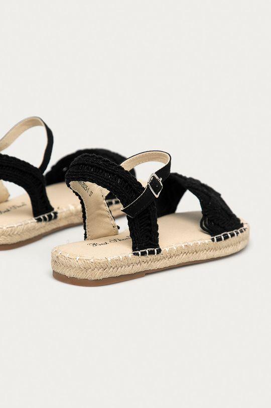 Answear Lab - Sandały Best Shoes Cholewka: Materiał tekstylny, Wnętrze: Materiał tekstylny, Podeszwa: Materiał syntetyczny