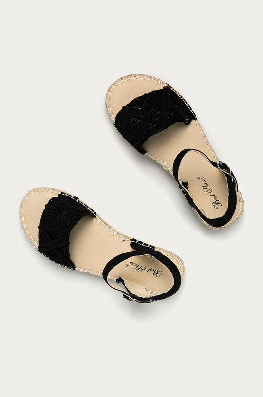 czarny Answear Lab - Sandały Best Shoes