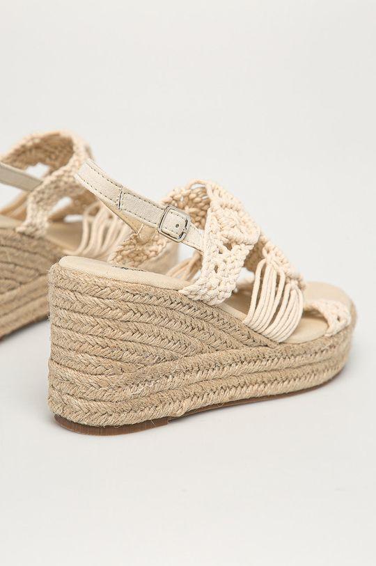 Answear Lab - Sandály Best Shoes  Svršek: Textilní materiál Vnitřek: Textilní materiál Podrážka: Umělá hmota