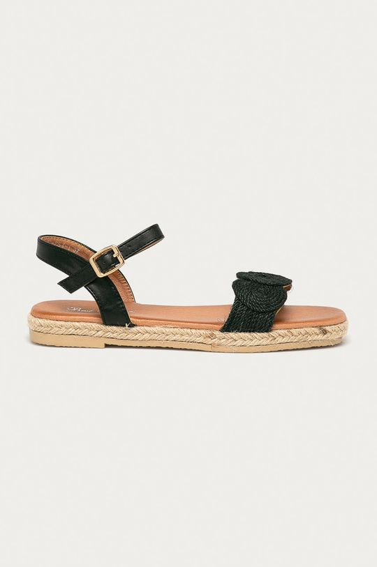 černá Answear Lab - Sandály Best Shoes Dámský