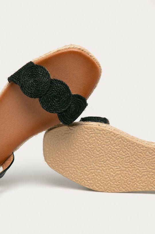 černá Answear Lab - Sandály Best Shoes