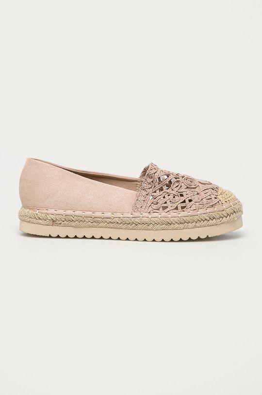 beżowy Answear Lab - Espadryle Best Shoes Damski