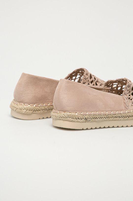 Answear Lab - Espadryle Best Shoes Cholewka: Materiał tekstylny, Wnętrze: Materiał tekstylny, Podeszwa: Materiał syntetyczny