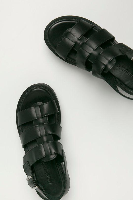 černá Answear Lab - Sandály Buonarotti